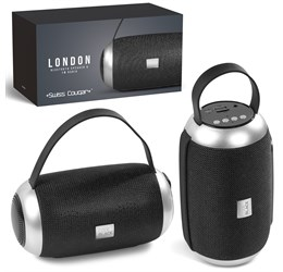 Swiss Cougar London Bluetooth Speaker and Fm Radio