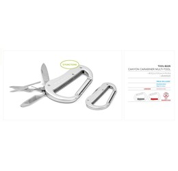 Canyon Carabiner MultiTool