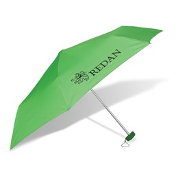 Rainbow Compact Umbrella  Lime Only