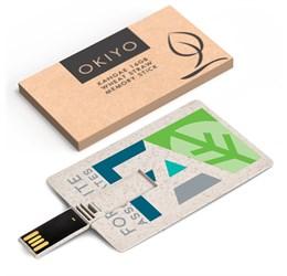 Okiyo Kangae 16GB Wheat Straw Memory Stick