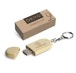 Okiyo Benkyou Bamboo Memory Stick  8GB